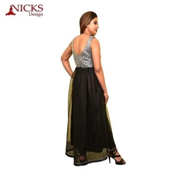 Sequence Black Long Dress