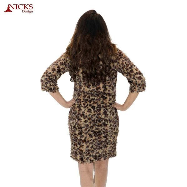 Leopard print with sleeves